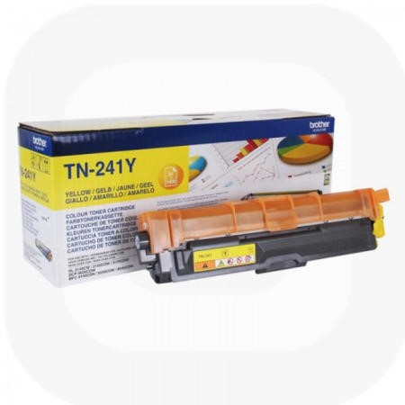Brother TB-241Y Toner Cartridge - Yellow