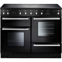 Rangemaster 88030 Toledo 110cm Electric Range Cooker With Induction Hob - Gloss Black