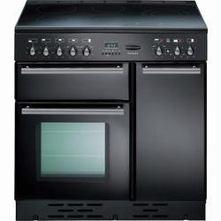 Rangemaster 88080 Toledo Induction 90cm Electric Range Cooker - Gloss Black