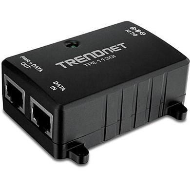 TRENDnet TPE-113GI Gigabit Power over Ethernet PoE Injector V1.0R