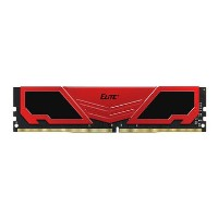 TEAM ELITE+ Red Heatsink 4GB DDR4 2400MHz Non-ECC DIMM Memory