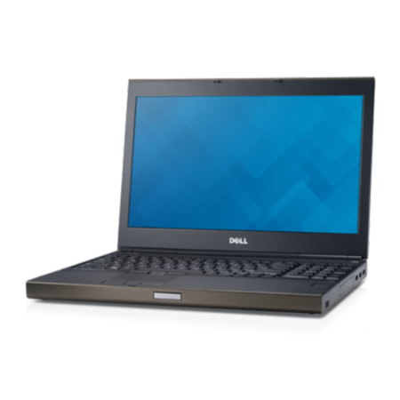 TR/13/117 Refurbished Dell Precision M4800 Core i7 4900MQ 4GB 512GB SSD Quadro K2100M DVDRW 15.6 Inch Windows 10 Laptop