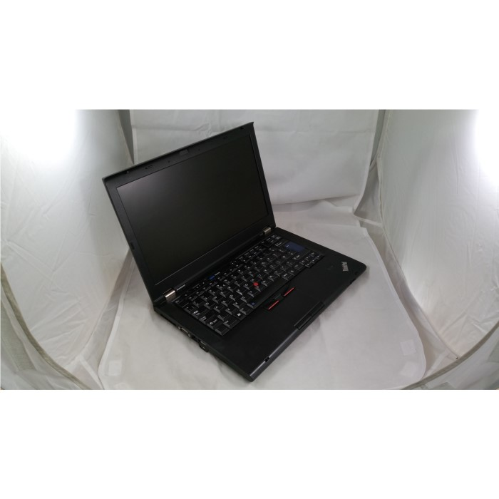 Refurbished Lenovo T420 Black Core i5 2520M 4GB 320GB DVD-RW 14 Inch Window  10 Laptop