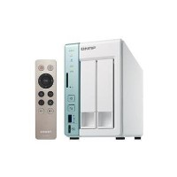 QNAP TS-251A-4G - 2 Bay - 4GB Diskless Desktop NAS