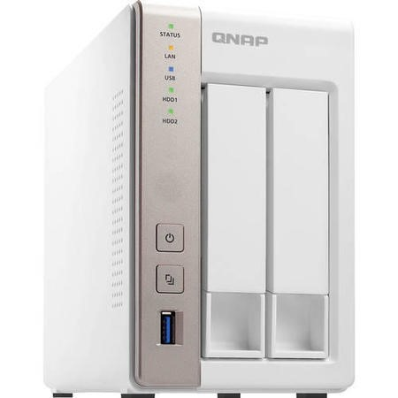 QNAP TS-251 2Bay 2GB 2.41GHz NAS Storage