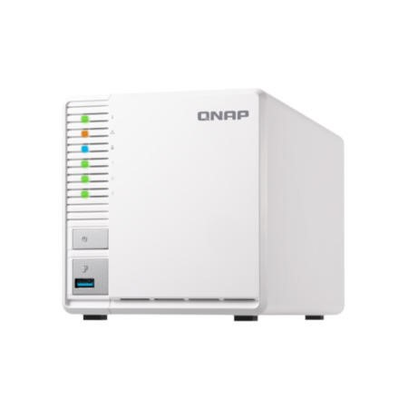 QNAP TS-328 3 Bay - 4GB Diskless Desktop NAS