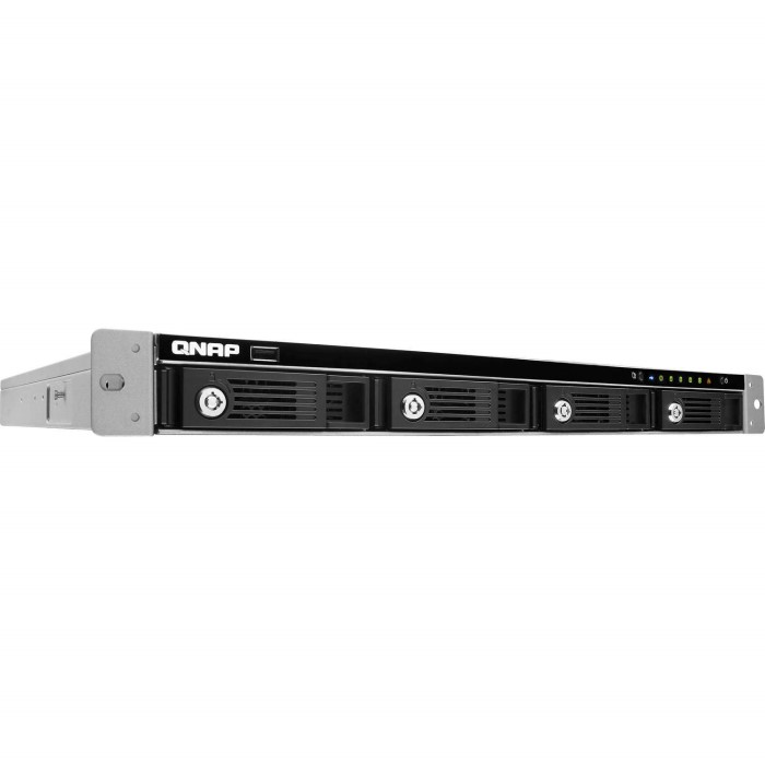 QNAP TS-453U 4Bay Rackmount Diskless NAS Enclosure