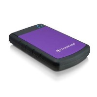 "Transcend StoreJet 2TB 2.5"" Portable Hard Drive in Purple"