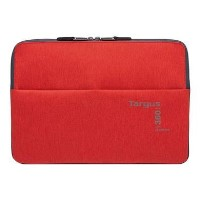 "Targus 360 Perimeter Travel & Commuter Laptop Sleeve Protector for 15.6"" in Red"