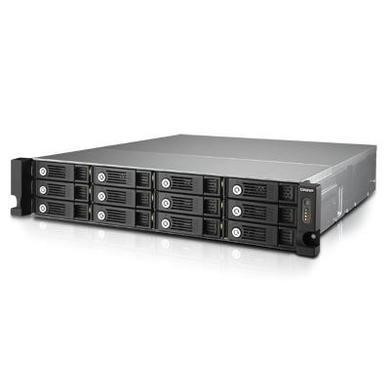 QNAP TVS-1271U-RP-i3-8G 12 Bay 10Gbe Ready 8GB Diskless NAS