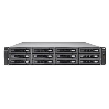 QNAP 12 Bay SAS 12G NAS 16Gb RAM Redundant Power