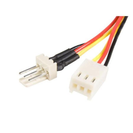 StarTech.com 12in TX3 Fan Power Extension Cable