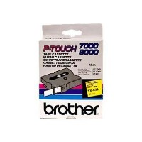 BROTHER PTOUCH 24MM YELLOW BLACK