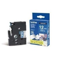 Brother TZe-535 White On Blue Labelling Tape 12mm