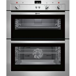 Neff U17S32N3GB Electric Built-under Double Oven - Stainless Steel