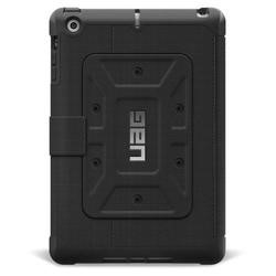 Urban Armor Gear iPad Mini/Mini Retina Folio Scout Case-Black/Black
