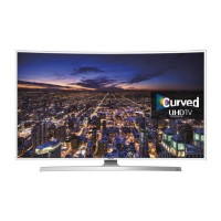 "Refurbished Samsung UE55JU6510 55"" Curved 4K Ultra HD with HDR LED Freeview HD Smart TV without Stand"