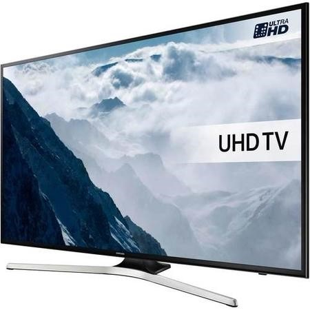 Samsung 40 Inch UE40KU6020 HDR 4K Ultra HD Smart TV with Freeview HD Playstation Now & PurColour