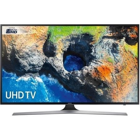 "Samsung UE55MU6120 55"" 4K Ultra HD HDR LED Smart TV with Freeview HD"