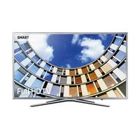 "Samsung UE43M5600 43"" Silver 1080p Full HD LED Smart TV with Freeview HD"