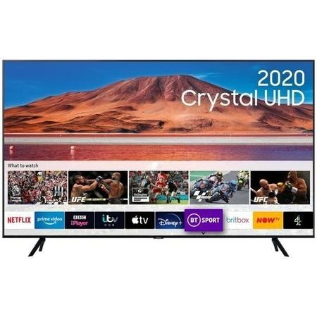 "Samsung UE50TU7100KXXU 50"" 4K Ultra HD HDR10+ Smart LED TV with TV Plus & Adaptive Sound"