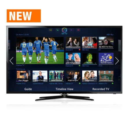 Ex Display - As new but box opened - Samsung UE46F5500 46 Inch Smart LED TV