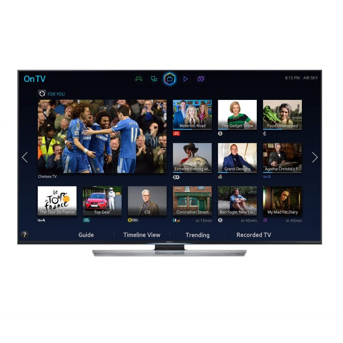 Samsung UE65HU7500 65 Inch 4K Ultra HD 3D LED TV