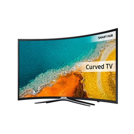 "Samsung UE49K6300AK - 49"" Class curved LED TV - Smart TV - 1080p Full HD - Micro Dimming Pro - dar"