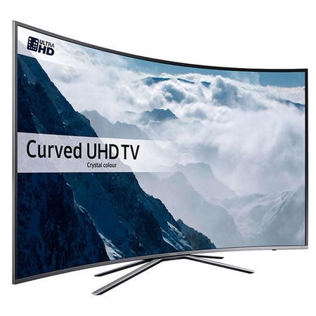 "Samsung UE49KU6500 49"" Curved 4K Ultra HD HDR Smart TV with Freeview HD/Freesat HD and Active Crystal Colour"
