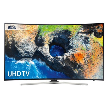 "Samsung UE55MU6220 55"" 4K Ultra HD Curved LED Smart TV with Freeview HD"