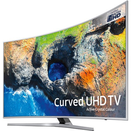 "Samsung UE65MU6500 65"" 4K Ultra HD HDR Curved LED Smart TV with Freeview HD and Active Crystal Colour"