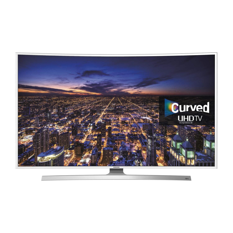 Samsung UE48JU6510 48 Inch Smart 4K Ultra HD Curved LED TV - Laptops