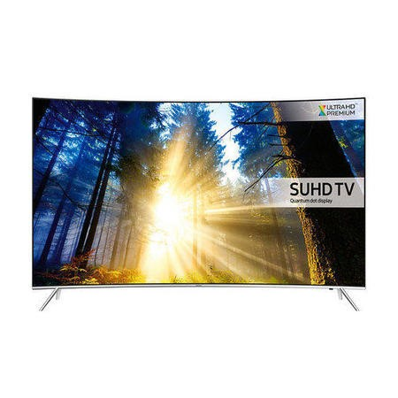 Samsung UE65KS7500 65 Inch Curved SUHD 4K Ultra HD HDR Quantum Dot Smart TV with Freeview HD/Freesat HD