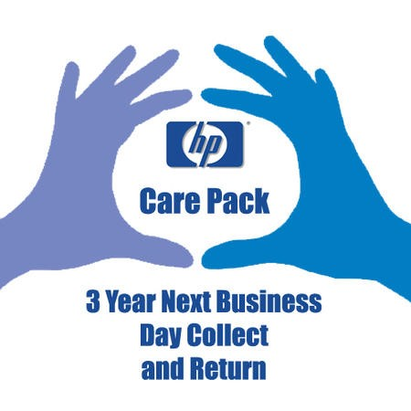 Hewlett Packard 3 Year Pick Up and Return Electronic Warranty