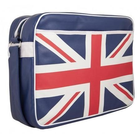 "UKF02UF Urban Factory 15.6"" Vintage Collection Union Jack Laptop Bag"