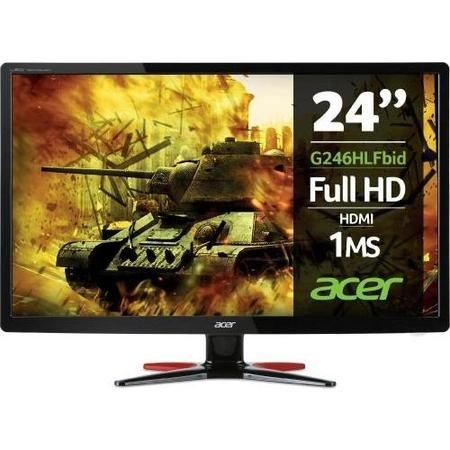 "UM.FG6EE.F01 Acer G246HLF 24"" HDMI Full HD 1ms Gaming Monitor"