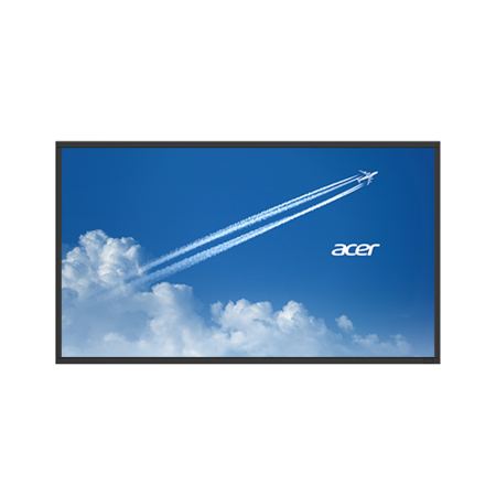 "Acer DV653bmidv 65"" Full HD Large Format Display Monitor"
