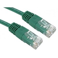 Cat5e Patch Cable in Green