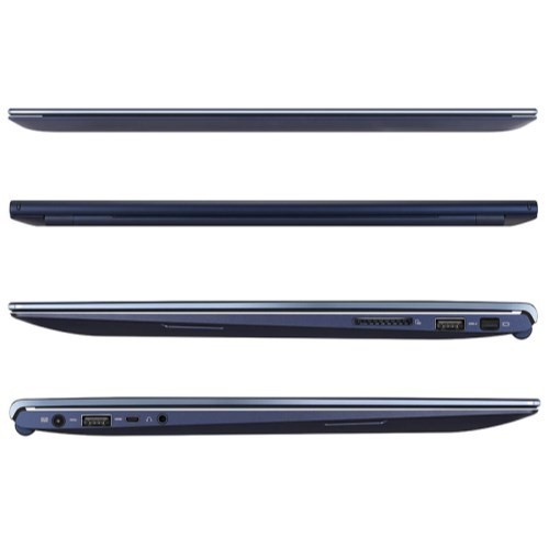 side views of laptop