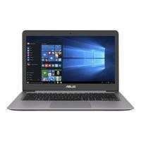 Asus Zenbook Intel Core i7-6500U 8GB 500GB + 256GB SSD 13.3 Inch QHD Windows 10  Ultrabook Laptop
