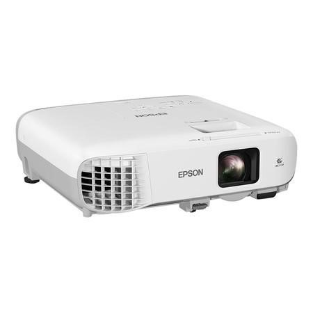 Epson EB-990U 3800 lumens WUXGA 3LCD Projector 1920x1200 Native resolution High contrast ratio 15000_1 x1.6 Optical zoom Long lamp life 6000h normal/12000h eco mode Low