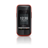 "Emporia One Black/Red 2.4"" Easy To Use Clamshell 2G Unlocked & SIM Free"