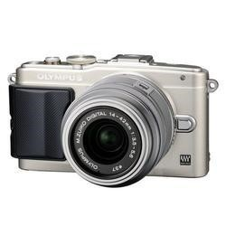 Olympus Pen E-PL6 Camera Silver 14-42mm II M.Zuiko R Lens Kit