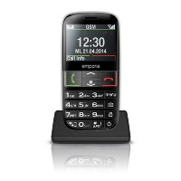 "Emporia Euphoria Black 2.3"" Easy To Use 2G Unlocked & SIM Free"