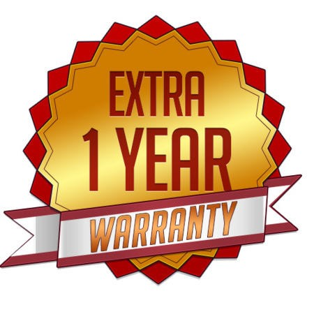 1 Year Warranty Extension for Products under the value GBP 250