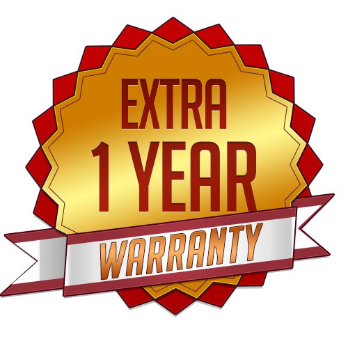 1 Year Warranty Extension for Products under the value GBP700