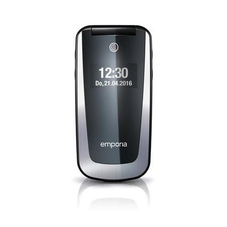 "Emporia SELECT 3G Black/Silver 2.4"" Easy To Use Clamshell 3G Unlocked & SIM Free"