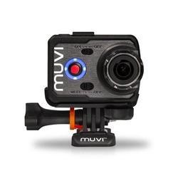 GRADE A2 - Veho VCC-006-K2S Muvi K-Series K-2 Sports Bundle Wi-Fi Handsfree Action Camera