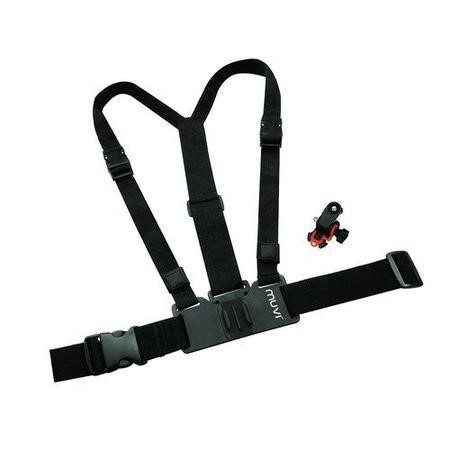 Veho VCC-A016-HSM Muvi Chest/Body Harness for K-Series Muvi HD with Muvi HD Holder and Tripod Mount