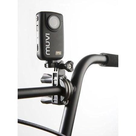 Veho VCC-A017-UPM Muvi Universal Pole/Bar Mount for Bikes Roll Cages Boat Rigging with Tripod Moun